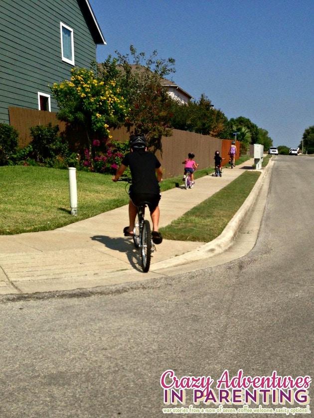 bike ride adventure