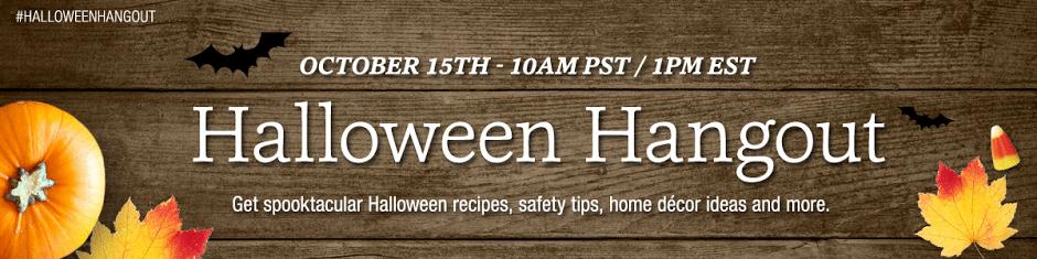 PersonalCreations G+ Halloween Hangout Banner