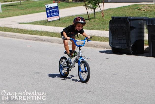 daredevil on a bike