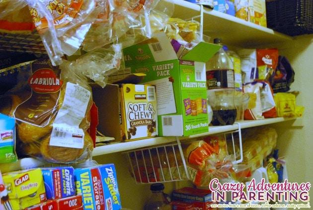 fourth shelf pantry