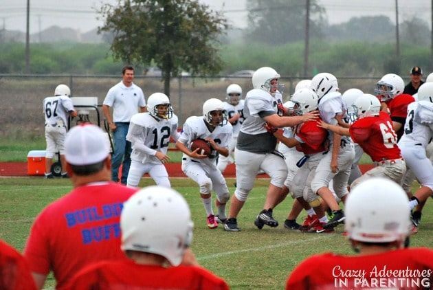 my son the running back