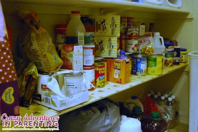 second shelf pantry