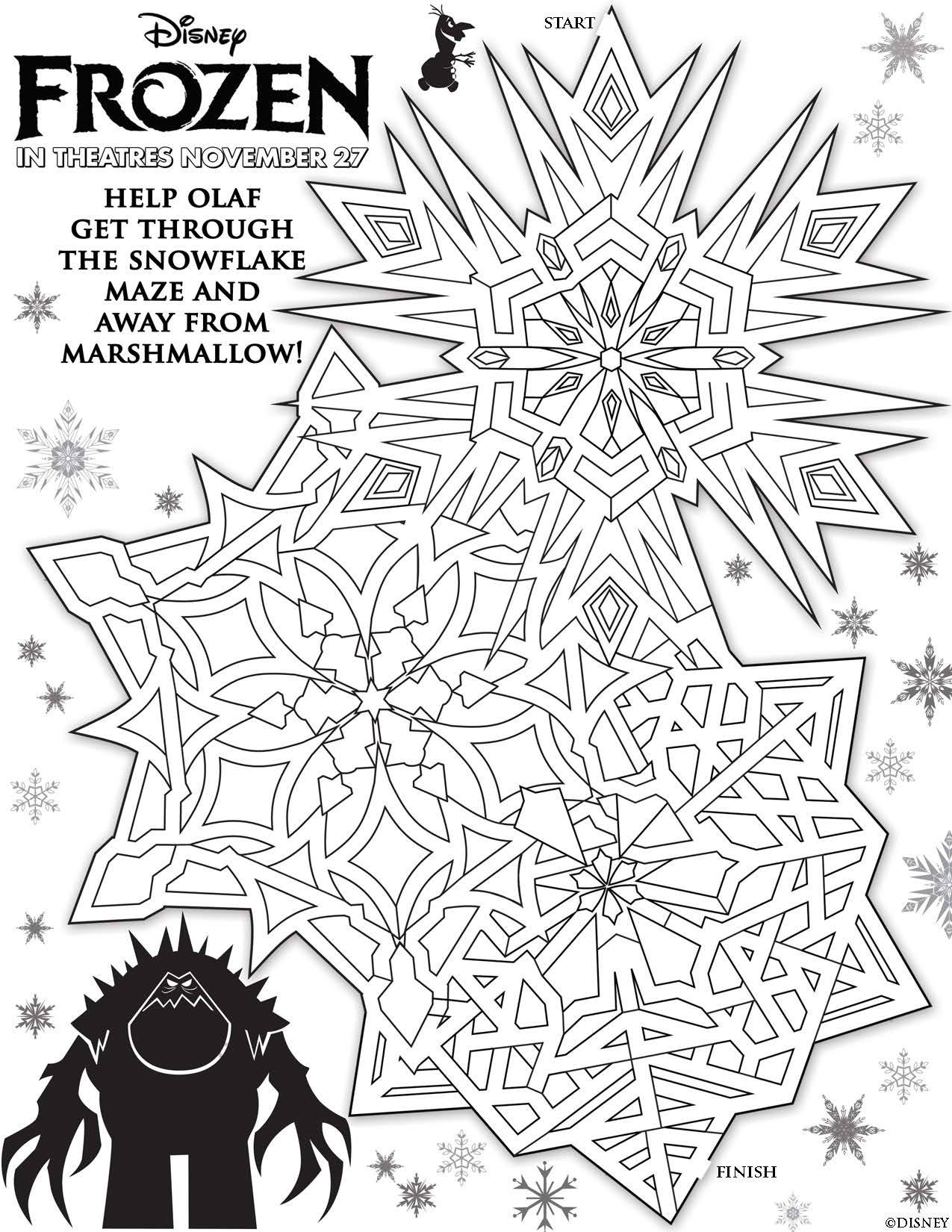 Disney 39 s Frozen Printables Coloring