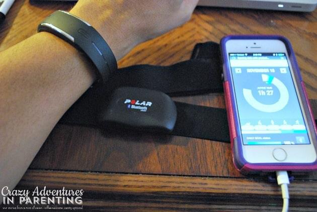 Polar Loop with Bluetooth strap