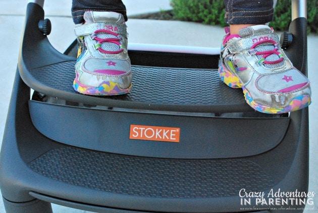 Stokke Scoot adjustable footrest
