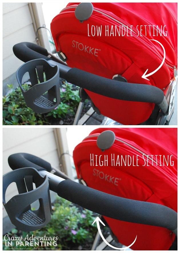Stokke Scoot adjustable handle