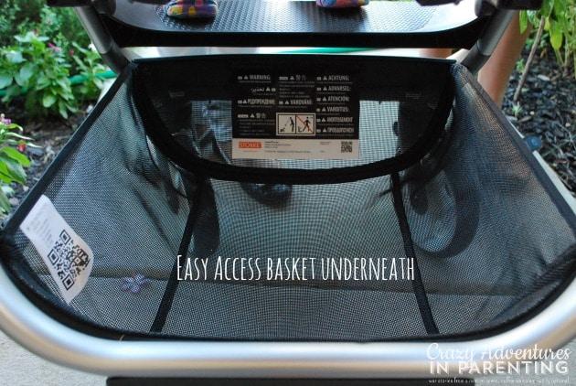 Stokke Scoot open storage basket
