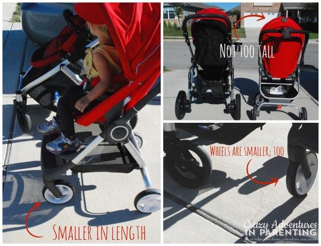 Stokke Scoot size comparison