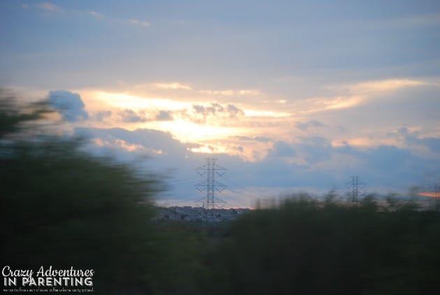 heavenly Texas sky