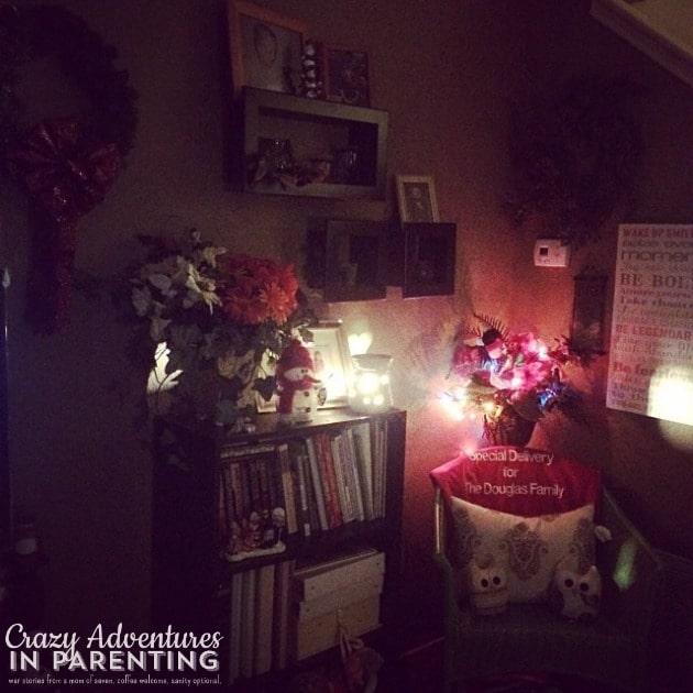 holiday decor and lights