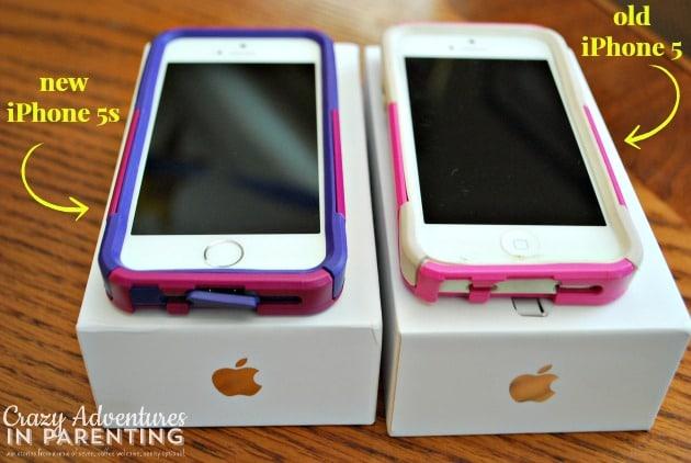 iPhone 5 vs iPhone 5s