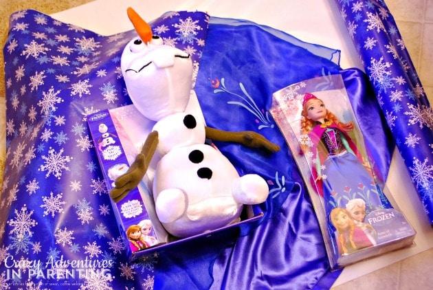 Disney FROZEN toys from Walmart