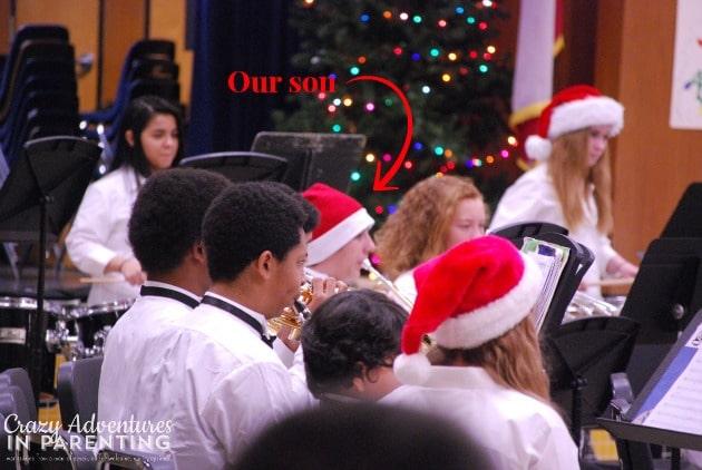 Eighth grade holiday performance 2013
