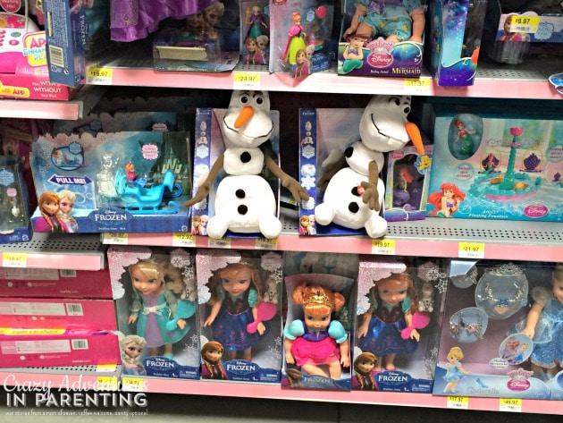 FROZEN Walmart Toys