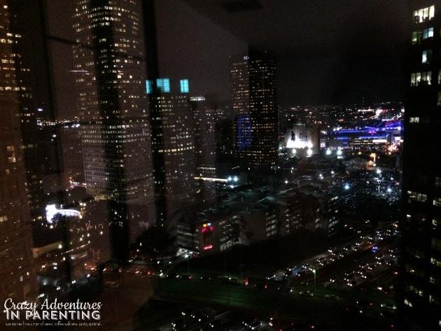 LA night loft view