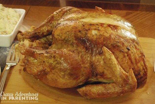 Thanksgiving turkey 2013