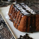 Banana Mocha Coffee Cake with Mocha Topping
