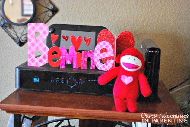 be mine Valentine's decorations