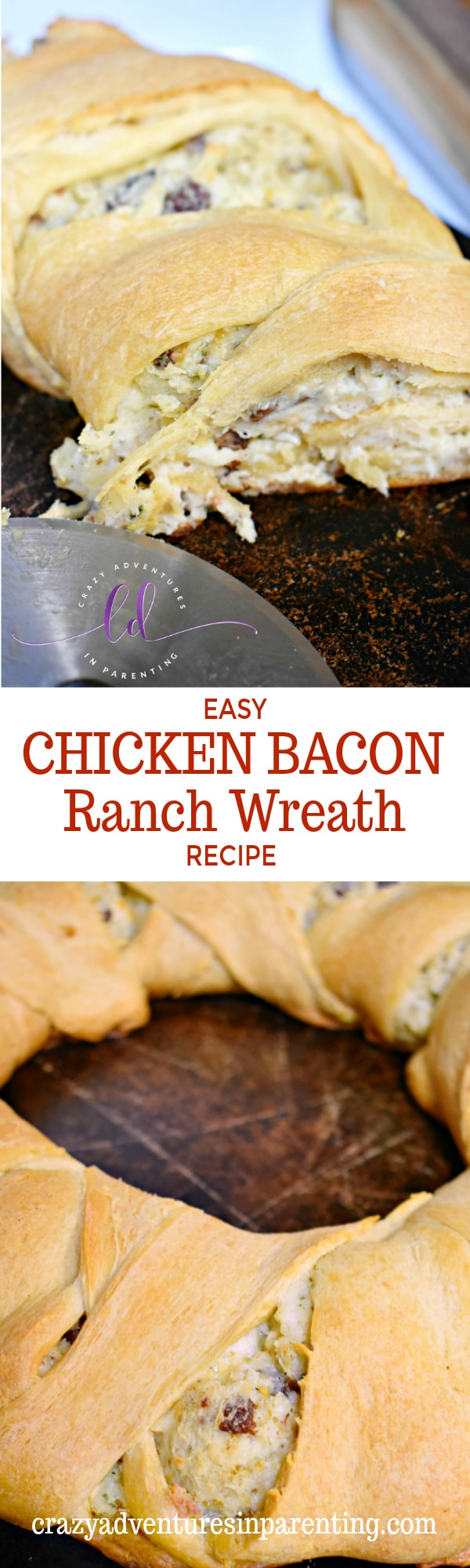 Easy Chicken Bacon Ranch Wreath Recipe