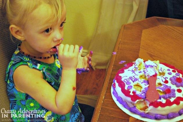baby's smash cake