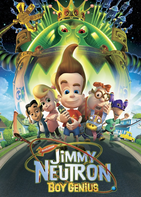 Jimmy Neutron streaming on Netflix