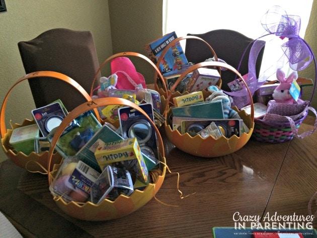 Mema's Easter Baskets