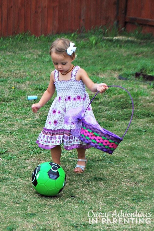 soccer egg hunt