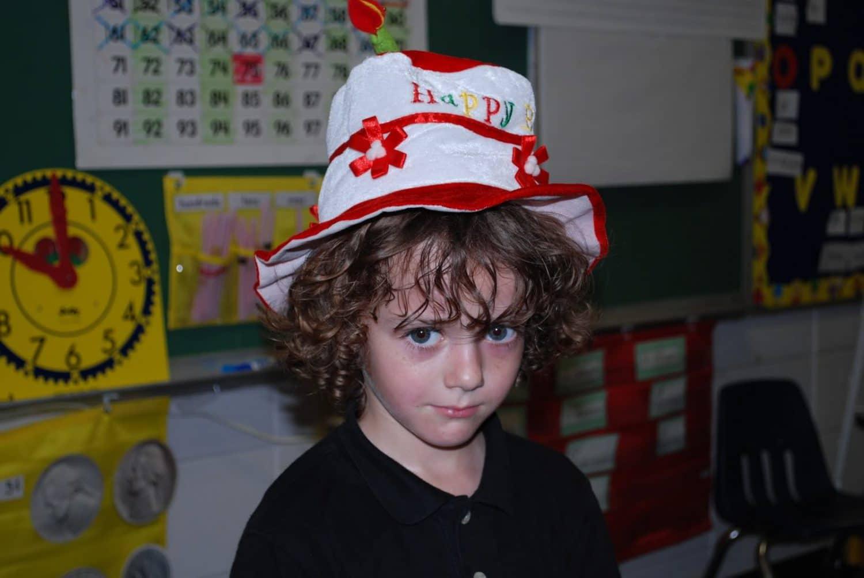 Birthday in school