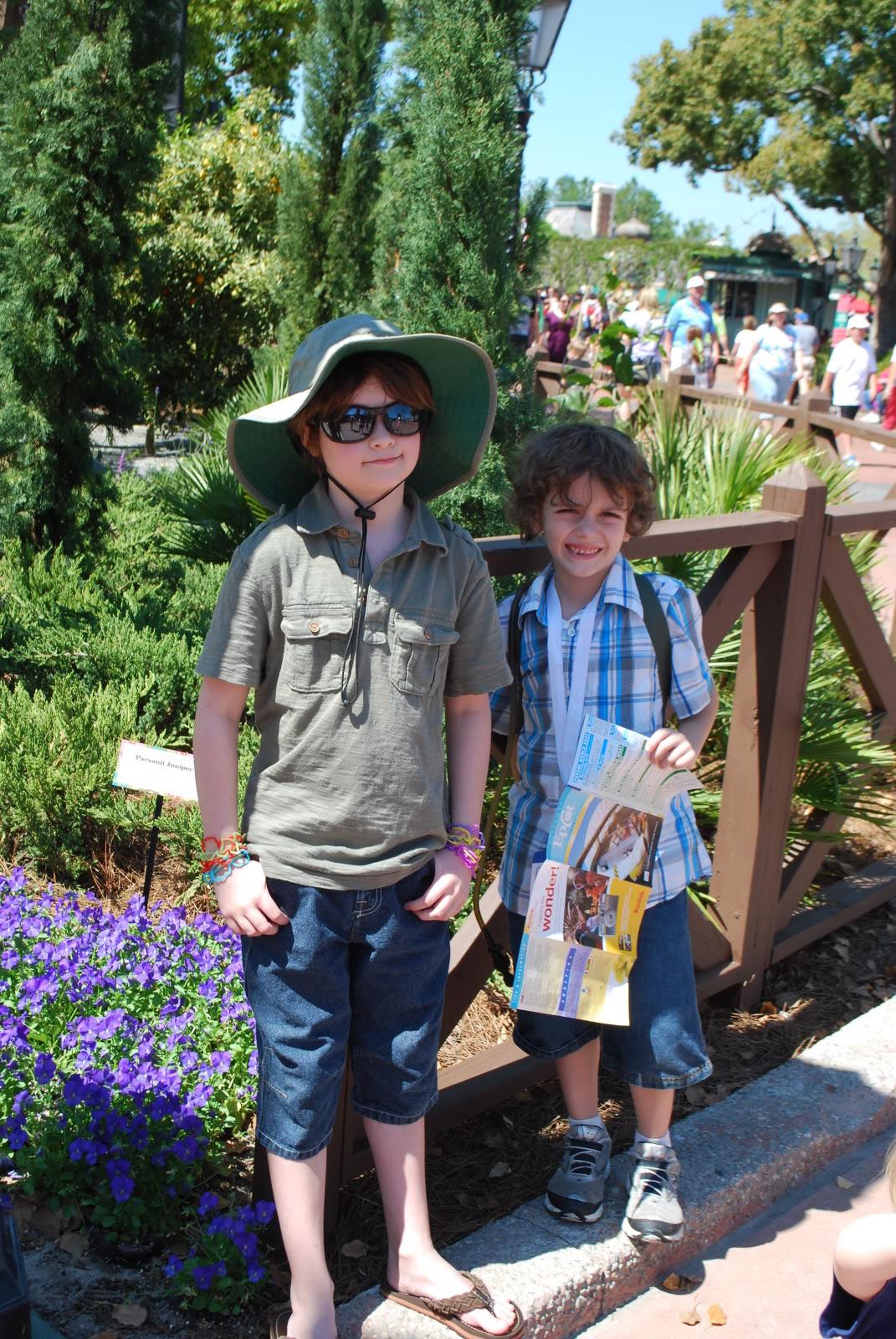 Disney 2011 with friends