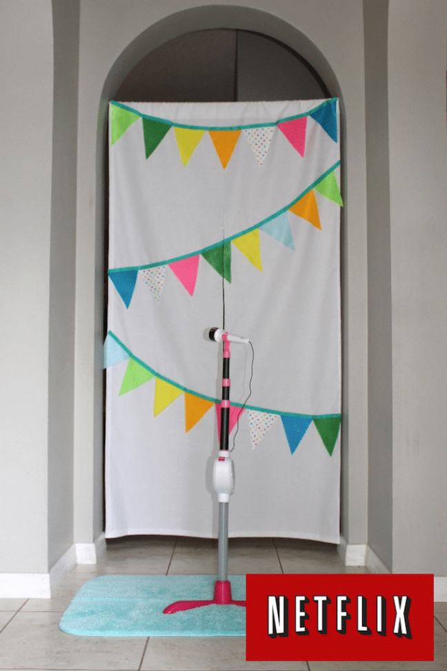no-sew stage curtain