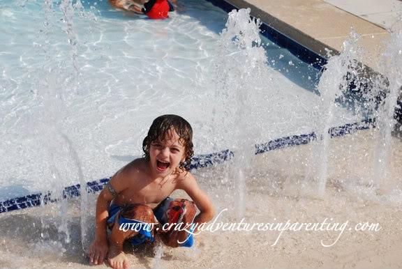 play at the pool