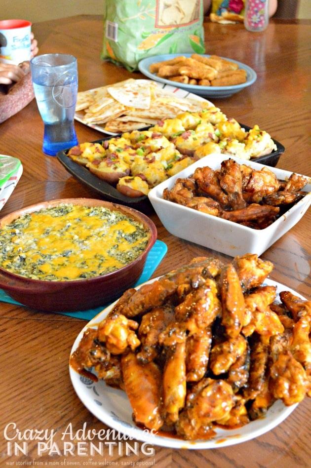appetizers for dinner