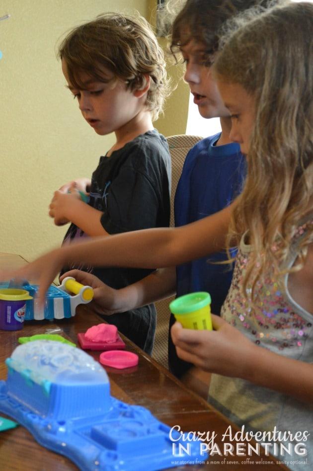 fun with Play-Doh