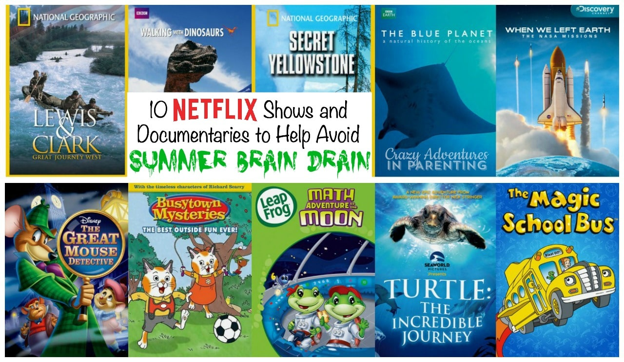 10 Netflix Shows and Documentaries to Help Avoid Summer Brain Drain