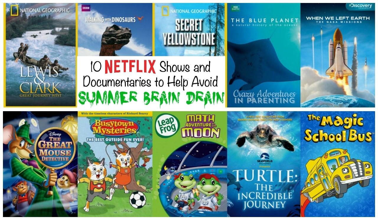 10 Netflix Shows and Documentaries to Help Avoid Summer Brain Drain