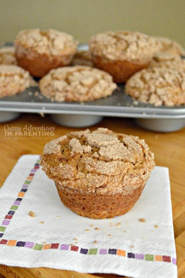 Caramel Macchiato Muffins