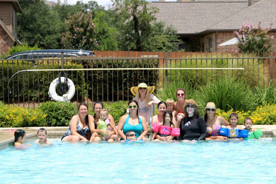 SATXBloggers Pool Party