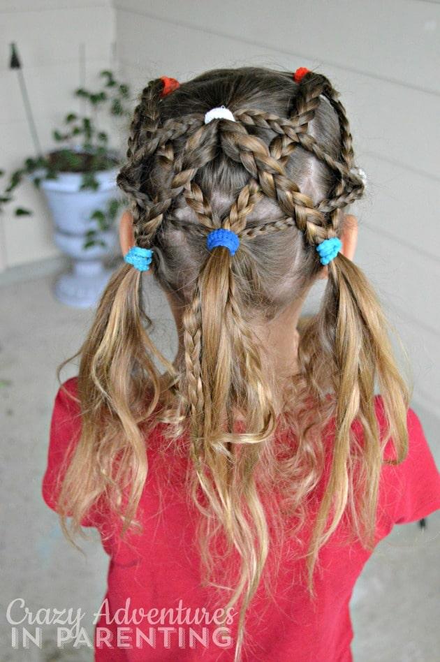 Star-Spangled hair