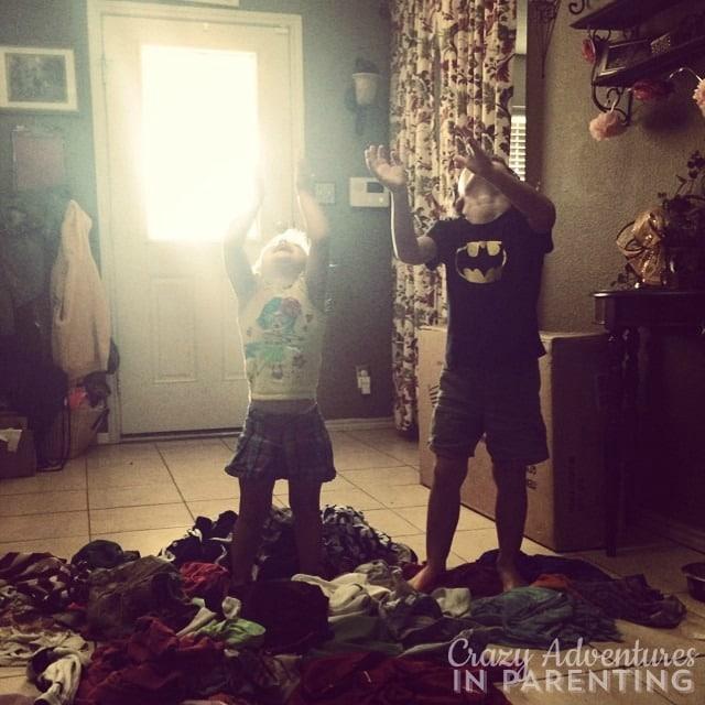 laundry chute game