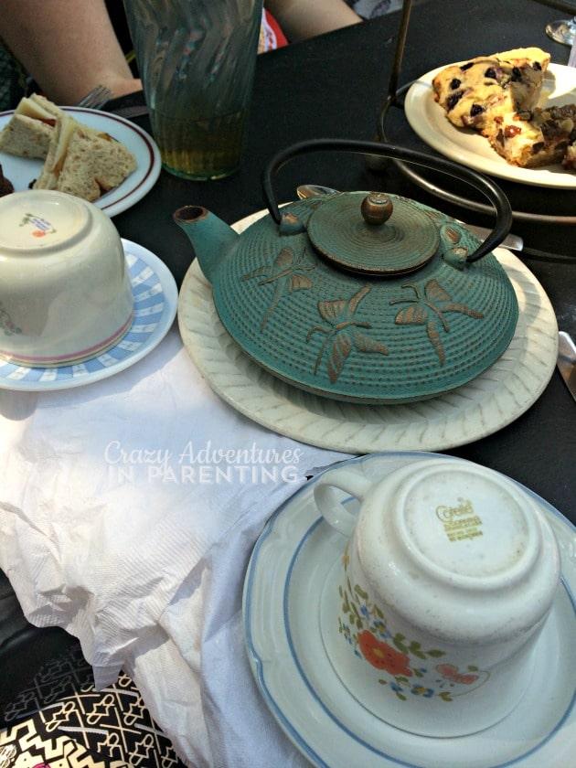 our tea service