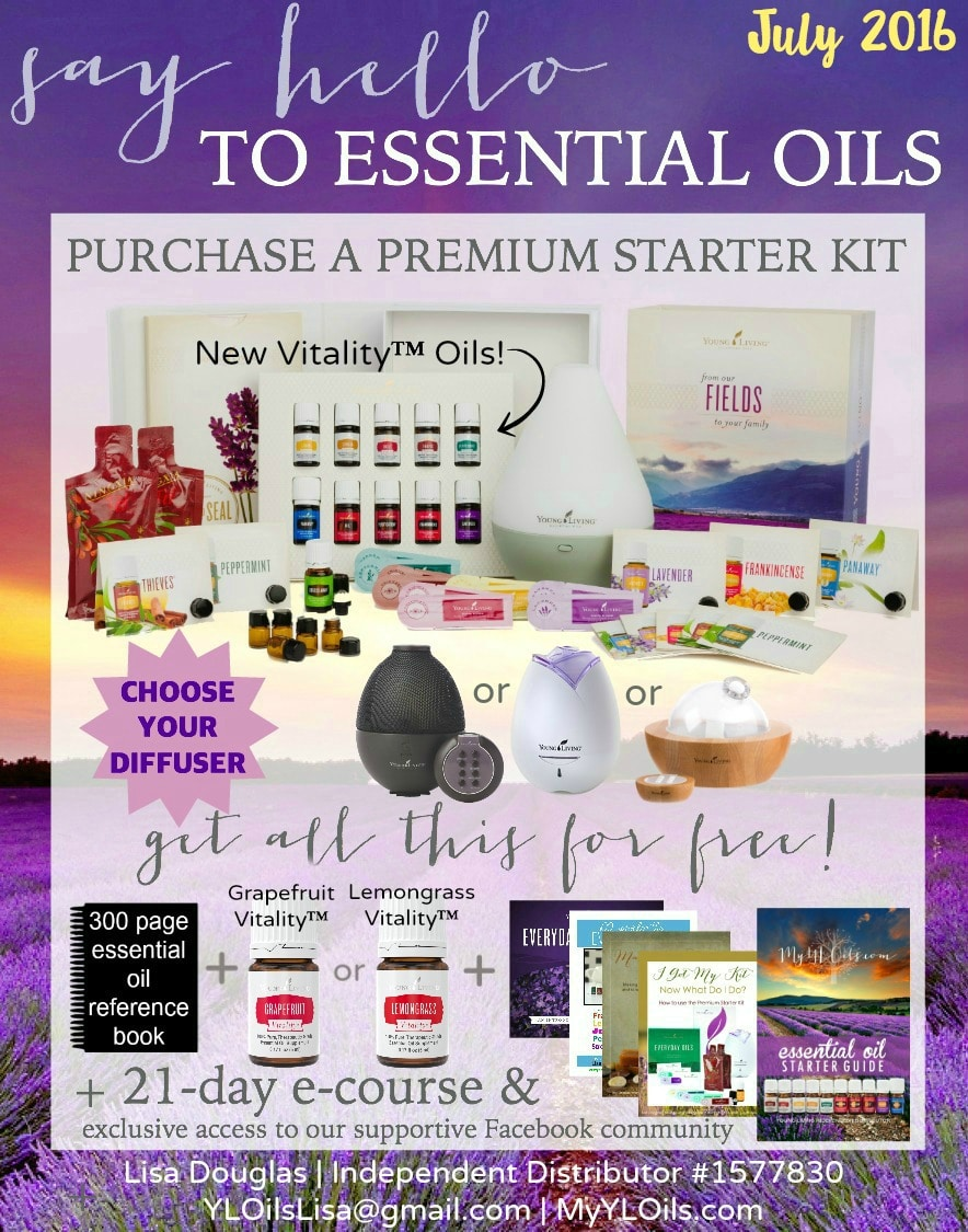 say hello to Young Living July 2016