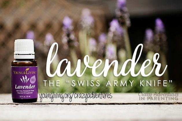 Swiss army knife lavender essential oil