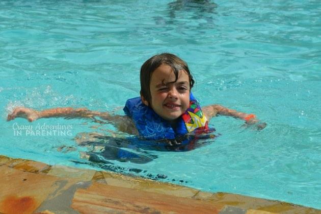 Baby Dude pool