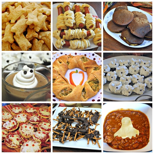 Halloween Food Collage