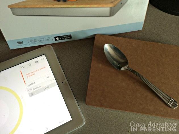The Prep Pad spoon use
