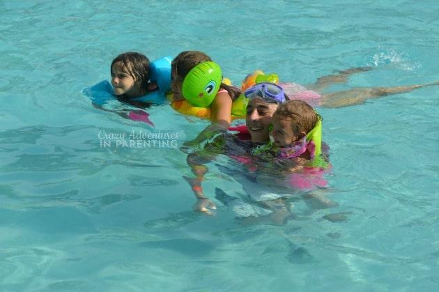 cousin pool fun
