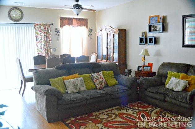 new living room - alternate view