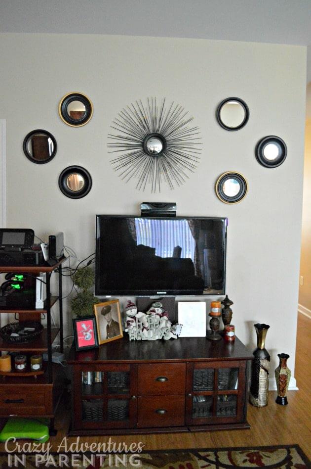 new living room wall decor