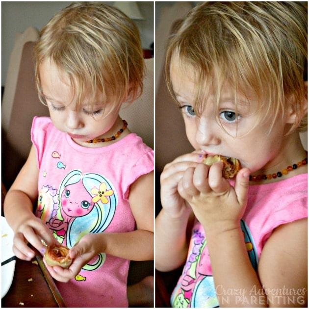 snacking on Apple Rose Tarts