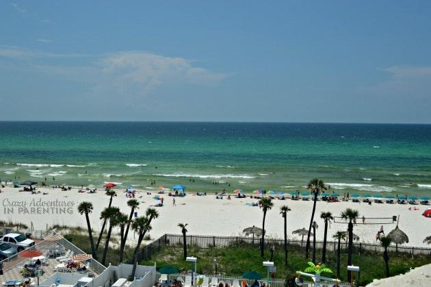 view from Panama City Beach Florida